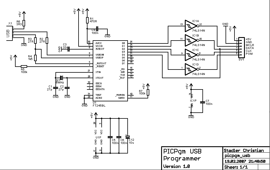 Usb To Rs232 Converter Schematic:  Let7s Make Robots rh:robotshop.com,Design